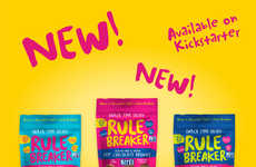 Free-From Snack Bites - Rule Breaker's Better-for-You Bites are Vegan, Nut-Free, Gluten-Free & More