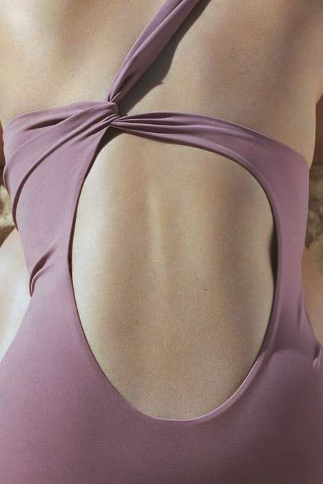 Minimalist Structured Bathing Suits