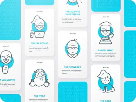 Business Professional Ideation Cards