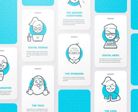 Trend maing image: Business Professional Ideation Cards