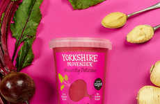 Wholesome Beetroot Soups - Yorkshire Provender's Beetroot Soup Boasts Fresh Vegetable Ingredients