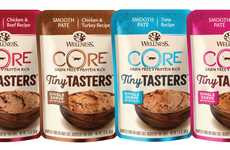 Single-Serve Cat Meals - The Wellness CORE Tiny Tasters Promote Freshness and Prevent Leftovers