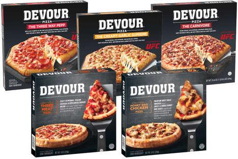 Deep-Dish Frozen Pizzas