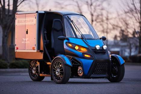 Three-Wheeled Delivery Vehicles