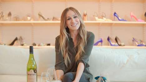 Summery Actress-Developed Wines - Sarah Jessica Parker Partnered with Invivo on a Lineup of Wines