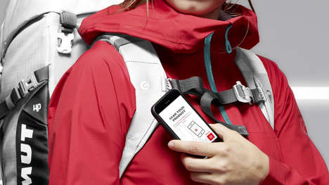 NFC-Connected Outerwear - The Mammut Connect Range Connects Customers to Warranties, Hashtags & More