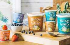 Probiotic Oat-Based Yogurts