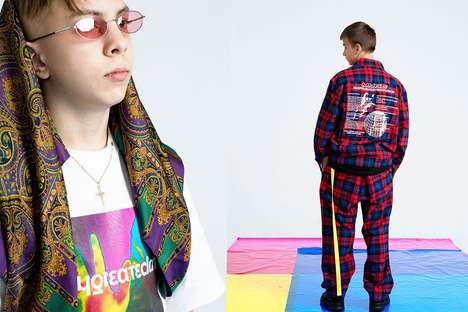 Pharmaceuticals-Influenced Streetwear - MYGE's Graphic-Heavy Design are Sure to Make a Statement