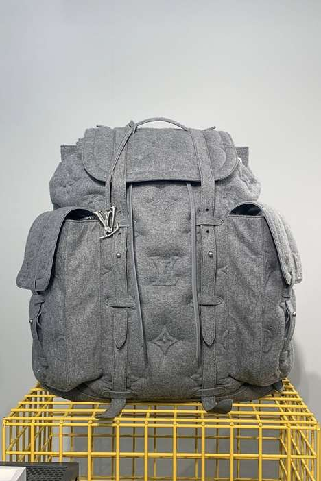 Luxury-Focused Gigantic Backpacks - Louis Vuitton Launches a Huge Bag That Retails for $10,000 USD
