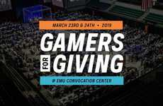 Charitable Weekend-Long Gaming Tournaments