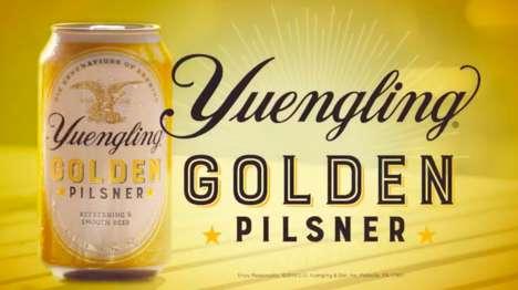Golden Millennial Pilsners