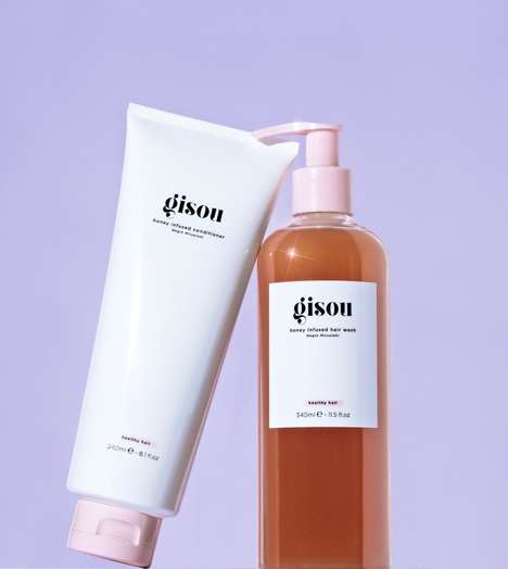 Honey-Infused Haircare
