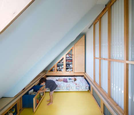 Cozy Contemporary Attic Apartments