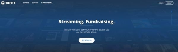 Social Good Gaming Platforms - Tiltify Helps Top Livestreamers Raise Money for Charity