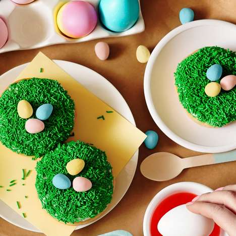 Easter Egg-Topped Donuts