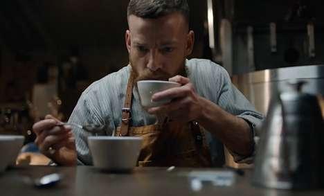 Fun-Poking Coffee Commercials