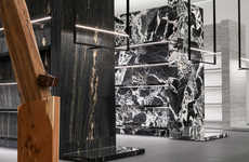 Luxuriously Marbled Retail Interiors