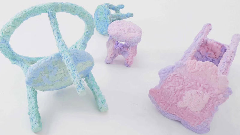 Whimsical Foam Furniture