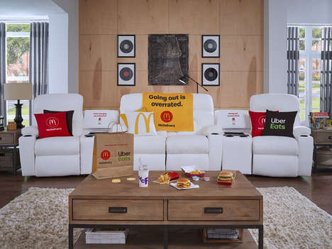 Comfortable Fast Food Couches