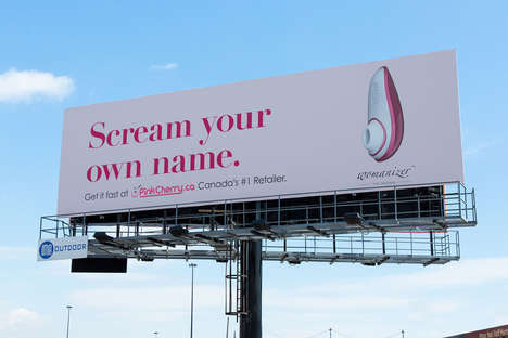 Viral Sex Toy Ads - WOW Tech Group's 'Womanizer' Billboard Gainer International Recognition