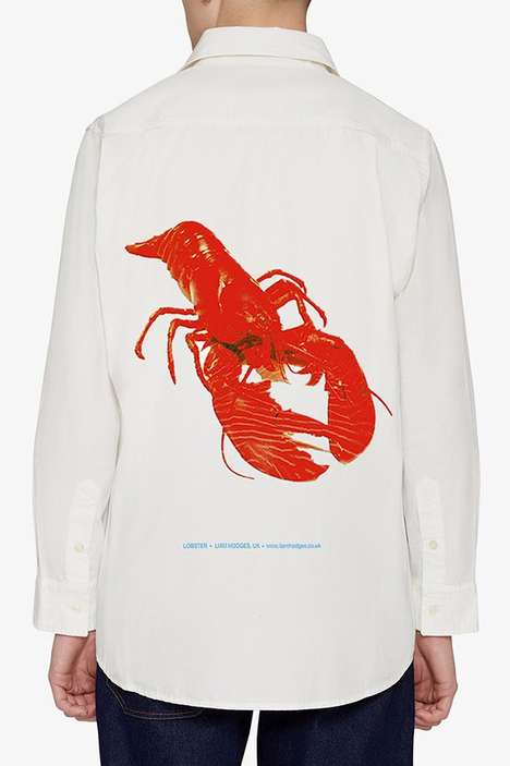 Lobster-Inspired Fashion Capsules - Liam Hodges' 'Lobster' is an Exclusive Capsule for SS 2019