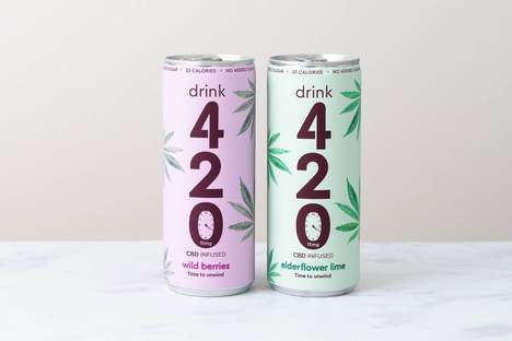 All-Natural CBD Sodas - Drink 420's Low-Calorie, Low-Sugar Soft Drink is Infused with Cannabidiol
