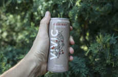Canned Sparkling Coffees