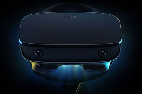 Affordable PC VR Headsets - The Oculus Rift S Boasts Five Separate and Integrated Sensors