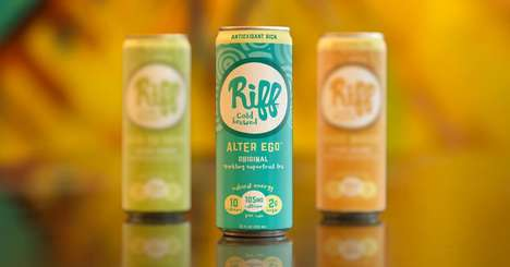Carbonated Coffee Fruit Teas - Riff Cold Brewed Uses Cascara for Its Sparkling Superfruit Teas