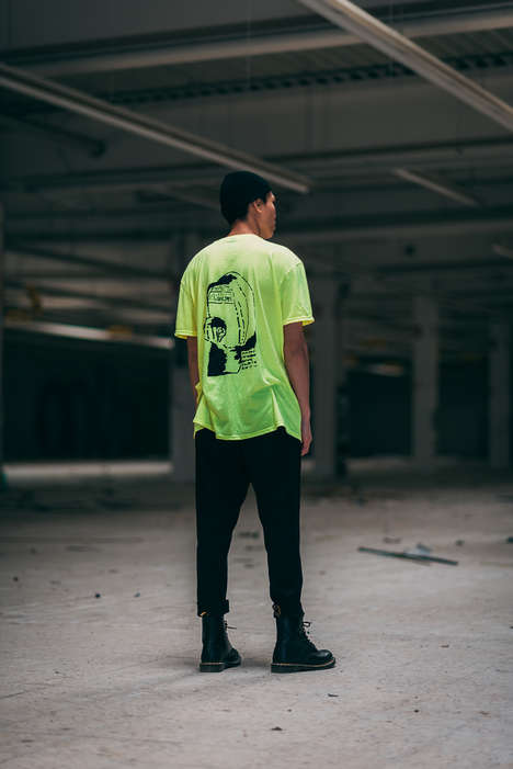 Street Culture-Honoring Fashion - MIDNIGHT Introduces its SS19 Collection Full of 90s-Inspired Goods
