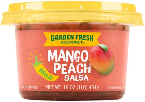 Tropical Summer Salsas - Garden Fresh Gourmet's Peach, Pineapple and Mango Salsas Boast Mild Flavors