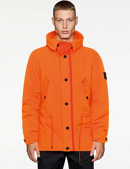 Vibrant Orange Technical Outerwear
