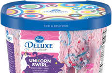 Swirled Cotton Candy Ice Creams - Kroger's Deluxe Unicorn Swirl Ice Cream is a Magical Dessert