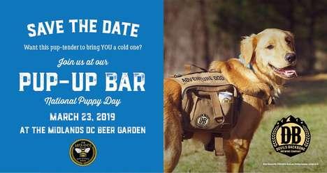 Pop-Up Puppy Bars