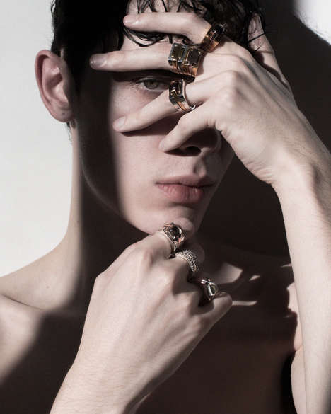 Gender-Neutral Contemporary Jewelry