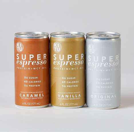 25 Canned Coffee Beverages - From Enhanced Espresso Beverages to Alcohol-Infused Cold Brews