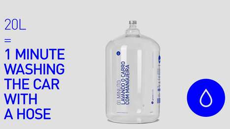 Conservation-Promoting Water Bottles - This Water Bottle Collection Measures Capacity by Activities