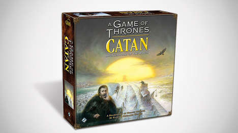 Fantasy Novel-Inspired Board Games - A Game of Thrones Catan Brings the Story to Life