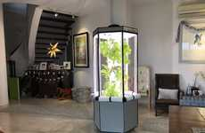 Vertical Indoor Gardening Systems