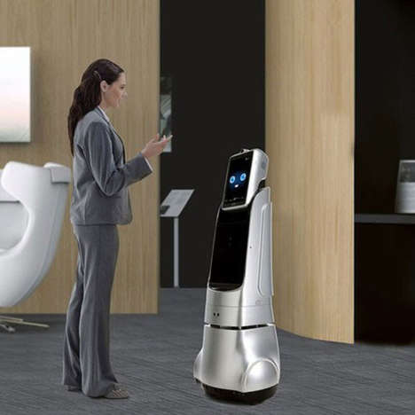 Automated Reception Robots