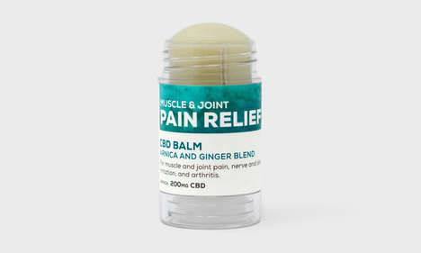 Roll-On CBD Pain Relievers