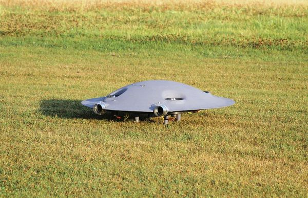 Saucer-Shaped Supersonic Drones