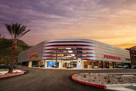 Nex-Gen Sports Car Showrooms