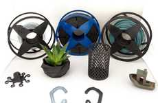 Recycled 3D Printer Filaments - NEFILATEK Turns Electronic Waste into Filament for Printing Projects