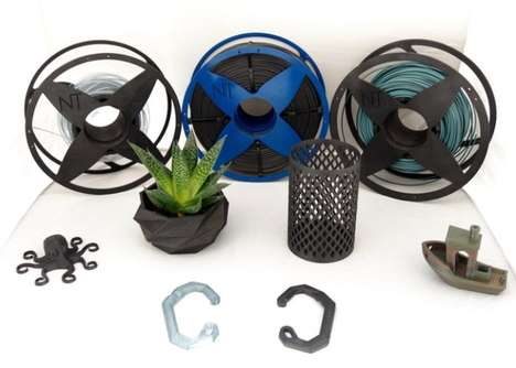 Recycled 3D Printer Filaments