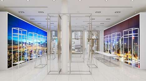 Rotating In-Store Pop-Up Displays - Bloomingdale's Thematic Carousel Will Change Every Two Months