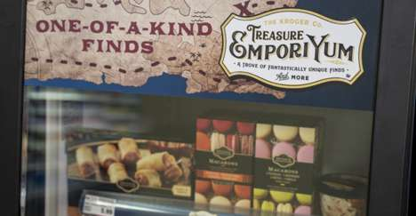 Attention-Catching Centre-Store Displays - Kroger's 'Treasure EmporiYum' Spotlights Select Products