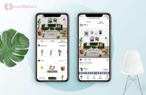 Virtual Decor Marketplaces