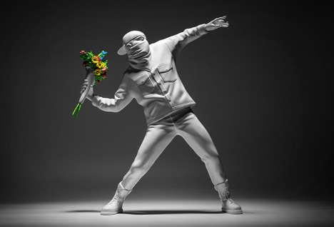 Collectible Street Art Figurines