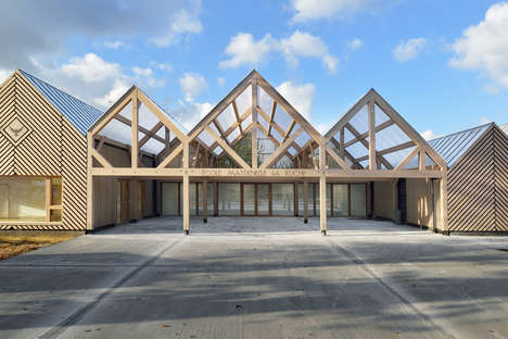 Gabled French Kindergartens